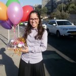 delivering Israel gifts